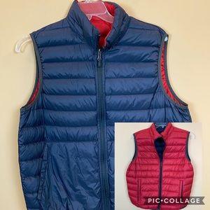 Hawke reversible men's down puffer puffa vest